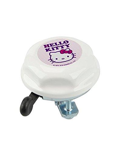 Pseudo 62316 - Campanello da bici per bambini, Hello Kitty, colore: Bianco