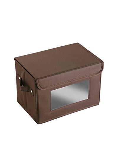 Zings Caja de Almacenamiento Chocolate