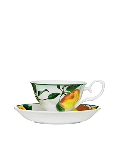 Premier Interior Kaffeetasse mit Untertasse Apple Orchard