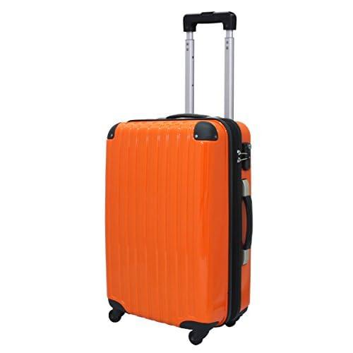ファスナー スーツケース R6125 小型 オレンジ