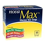 Nova Max Test Strips (50ct)