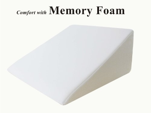 InteVision Foam Wedge Bed Pillow 25 x 24 x 12 with High Quality Removable Cover at Sears.com