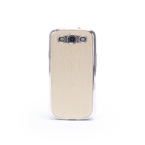 Doublju Luxury Plastic Snap-on Hard Back Cover Phone Case BEIGE