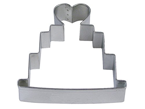 R&M Wedding Cake 4 Cookie Cutter in Durable, Economical, Tinplated Steel wedding cake murder