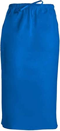 WorkWear 4509 Women's 30-inch Drawstring Scrub Skirt Royal X-Small