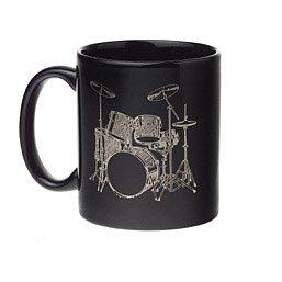 Black Drumset Mug