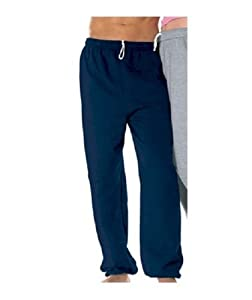 Mens Fleece Sweat Pants with Elastic Ankels