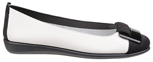 The Flexx, Mary Jane basse donna blu Blue, nero (White/Black), 38 EU