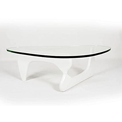 Kardiel 1956 Arch Mid-century Modern Coffee Table, White Ashwood