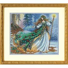 Dimensions Counted Cross Stitch, Woodland Enchantress