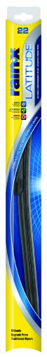 "Rain-X 5079279-1 Latitude Wiper Blade - 22"" (Pack of 1)"
