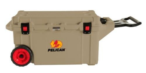 Pelican Products ProGear Elite Wheeled Cooler, Tan, 80 quart (80 Qt Cooler Pelican compare prices)