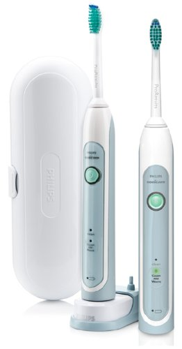 Philips Sonicare HX6782/33 HealthyWhite Rechargeable Toothbrush 2-Pack
