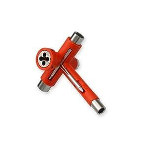 Reflex Orange Roller Skate Tool - Reflex Utilitool - Roller Derby Tool by Reflex