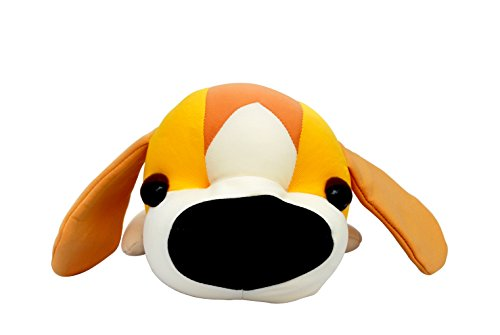 11 Inch Cute Dog Plush Toy,Neck Pillow Pet For Car Airplane Travel,Side Sleeper Pillow Playmate For Kids/Adult(Dog Pattern)