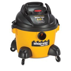 * Right Stuff Wet/Dry Vacuum, 8 A, 19 Lbs, Yellow/Black front-525867