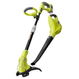 Ryobi One String timmer/Edger,Blower and Sweeper kit