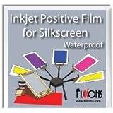 "Waterproof Inkjet Positive Film For Silk Screen 8.5"" x 11"" Sample Pack (10 Sheets)"
