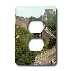 Vacation Spots - Great Wall of China - Light Switch Covers - 2 plug outlet cover