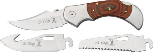 Elk Ridge Er-055 Folding Knife 5-Inch Closed