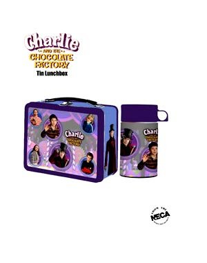 Charlie and the Chocolate Factory Series 2 Lunchbox with Cold Drink Container
