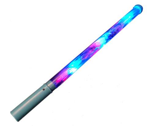 WeGlow International Dolphin Light Up Baton, Blue, Set of 3