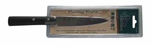 Update International Jk-01 High Carbon Stainless Steel Japanese Paring Knife With Pom Handle, 4-3/4-Inch