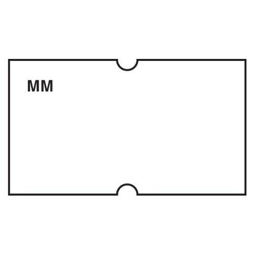 Daymark 110433 Movemark Date Coder Label, White, For Dm3 1 Line Marker (Pack Of 8 Rolls)