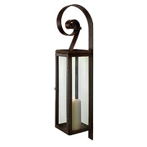 Amazon.com: Aurelia Metal and Glass Decorative Candle Lantern ...