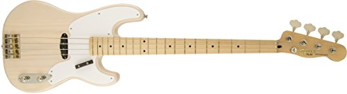 Squier by Fender Classic Vibe 50's 4-String P-Bass Guitar, White Blonde (Fender Classic Vibe 50 compare prices)