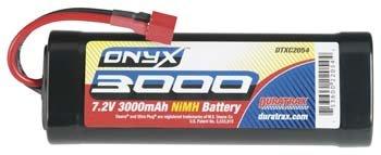 Duratrax NiMH Onyx 7.2V 3000mAh Stick Deans U Plug