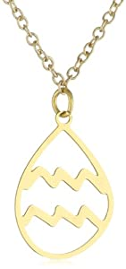 Kris Nations Gold-Plated Aquarius Necklace, 18""