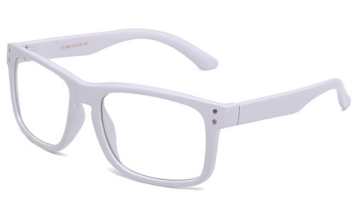 Newbee Fashion® - IG Unisex Sophisticated Thick Round High Quality Clear Lens Glasses