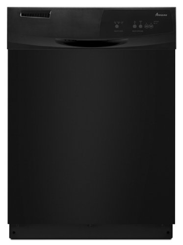 "Amana Adb1100Awb 24"" Black Full Console Dishwasher - Energy Star front-586020"