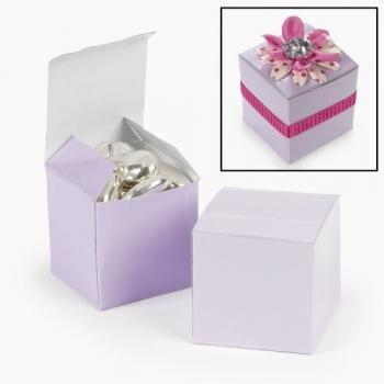 Mini Lilac Gift Boxes (2 dz)