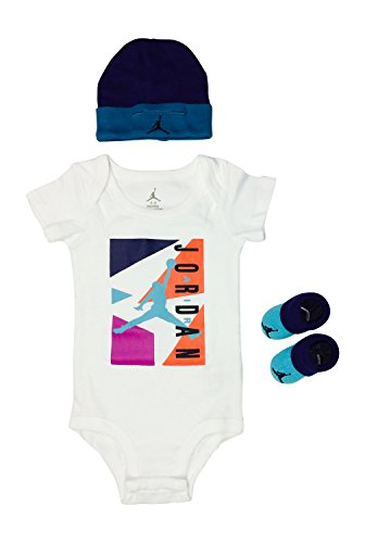 Nike Air Jordan Baby Clothes 3-piece Set