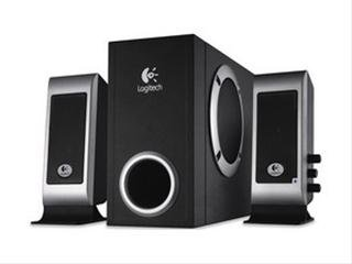 Logitech S-220 Speakers Soundsystem 2.1 17 Watt RMS schwarz