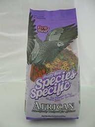 Pretty Bird International BPB73313 Species Specific African Bird Food with Extra Calcium, 3-Pound