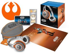 Star Wars First Edition Rebel Alliance STREET by 50 On-Ear Headphones