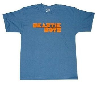 Beastie Boys 'Fader Logo' slate blue t-shirt (Large) [Apparel]