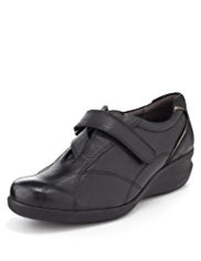 Footglove™ Leather Wedge Shoes