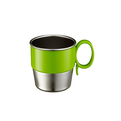 Innobaby Din Smart Stainless Cup, Green, 9.5 Ounce
