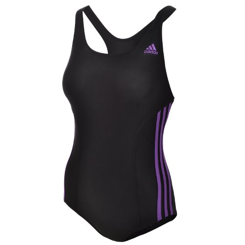Adidas Infinitex Womens Swimming Swim Swimsuit Costume - Black