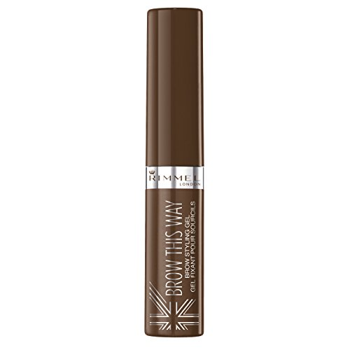 Rimmel Brow This Way - Gel per sopracciglia, Medium Brown