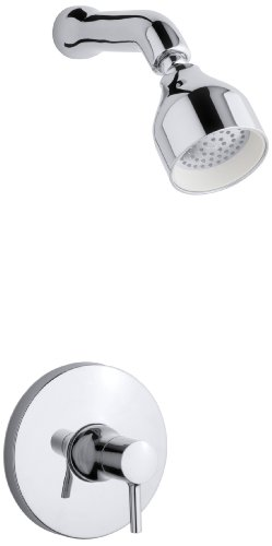 KOHLER K-T8978-4-CP Toobi Shower Trim Less Diverter, Valve Not Included, Polished Chrome