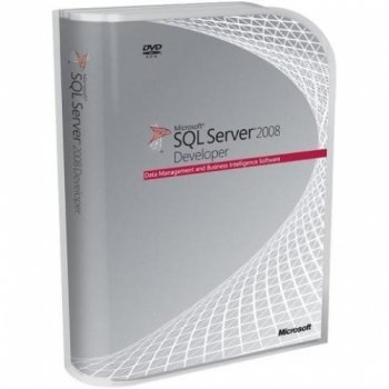 Sql Svr Developer Edit 2008 DVD
