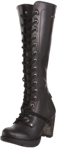 New Rock Women's M.TR005-S1 Platform Boot Itali Black 6 UK