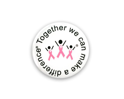 Breast Cancer Awareness Pins (Wholesale Pack - 25 Pins)