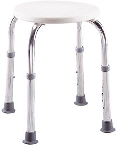Lumex on Amazon Com  Lumex 2060r Round Bath Shower Stool Seat Chair Narrow
