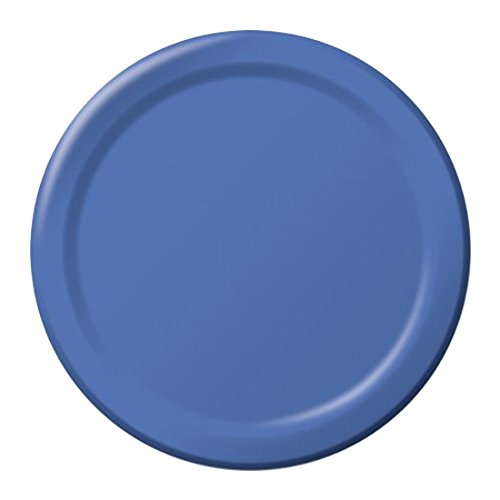 "Luncheon Plates 6.87"" 24/Pkg-True Blue"